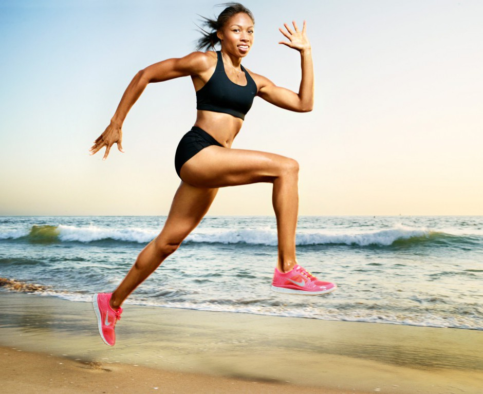 39 allyson felix - fittest bodies in sports