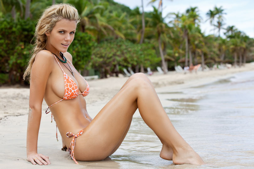 4 brooklyn decker (andy roddick wife) - biggest ladies men in sports