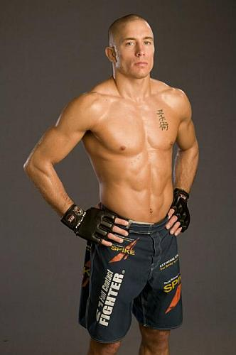 4 georges st pierre - fittest bodies in sports