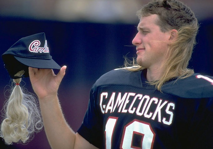 4 steve taneyhill - sports mullets