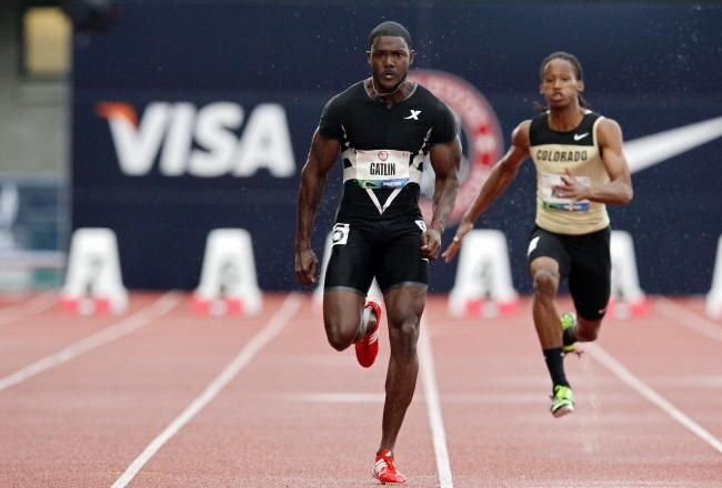 40 justin gatlin - fittest bodies in sports