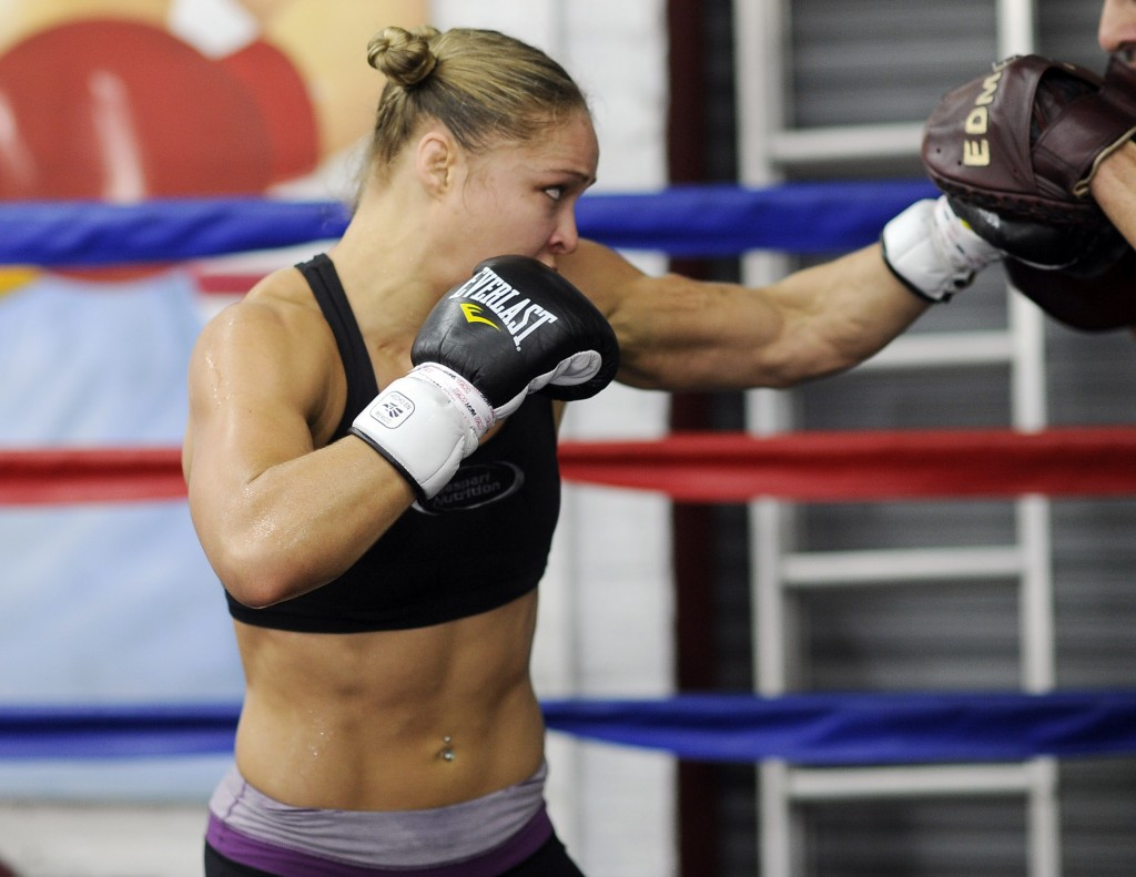 48 ronda rousey - fittest bodies in sports