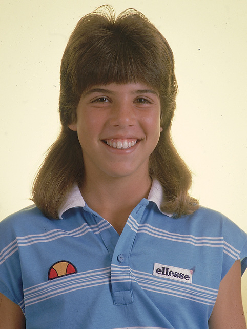 5 jennifer capriati - sports mullets