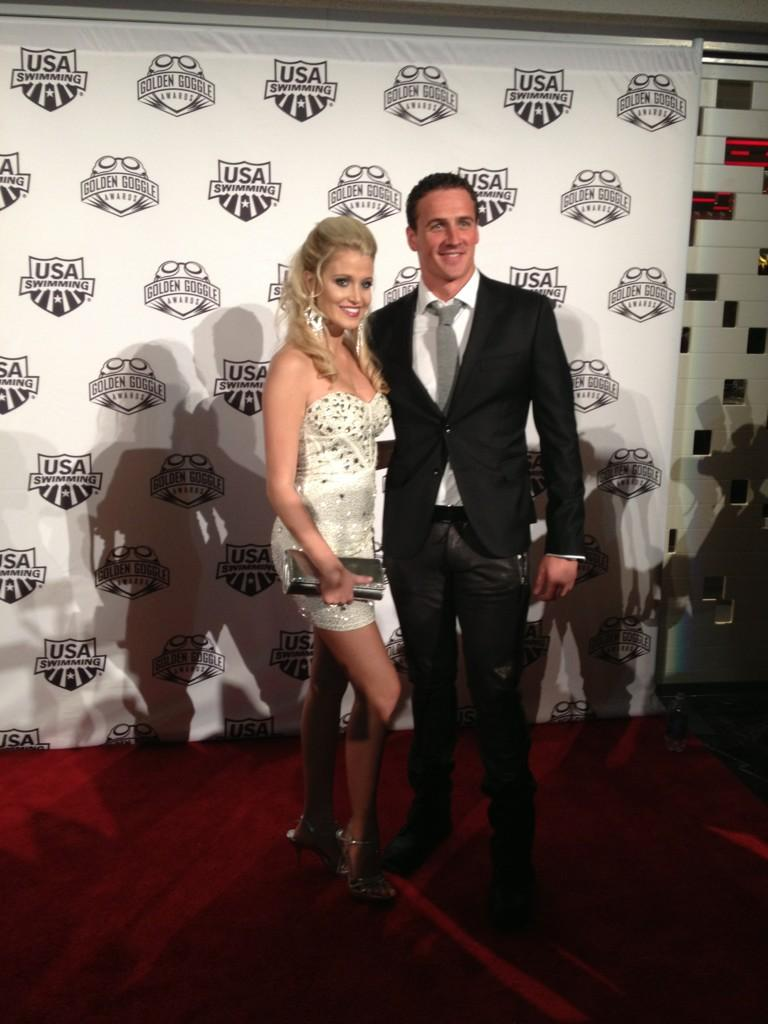 5 rachel garrison and ryan lochte - biggest ladies men in sports
