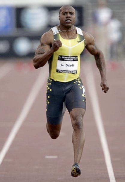 53 leonad scott (sprinter) - fittest bodies in sports