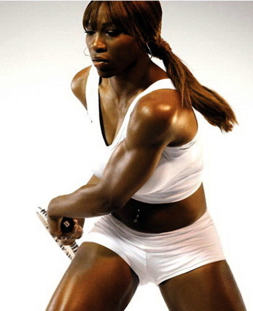 54 serena williams - fittest bodies in sports