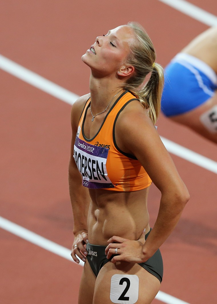 57 nadine broersen (dutch heptathlete) - fittest bodies in sports