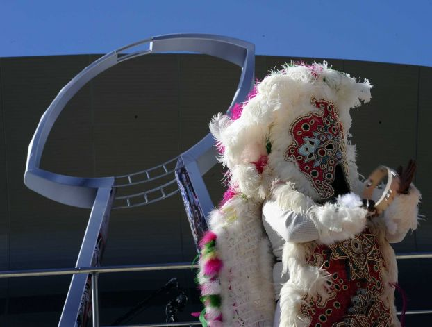 6 crazy bird suit thing - crazy super bowl xlvii fans