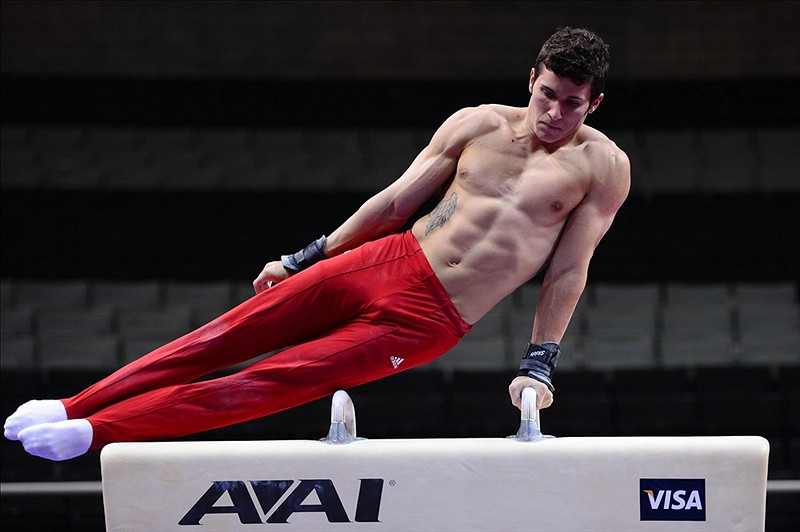 67 alex naddour (olympic gymnast) - fittest bodies in sports
