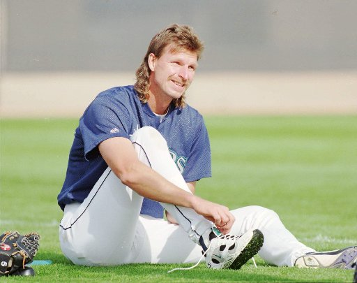 7 randy johnson - sports mullets