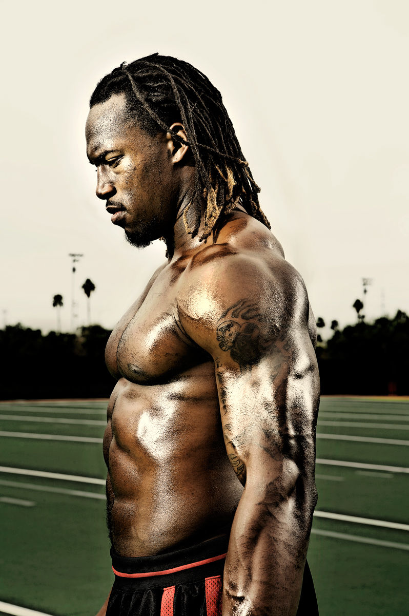 7 vernon davis (49ers) - fittest bodies in sports