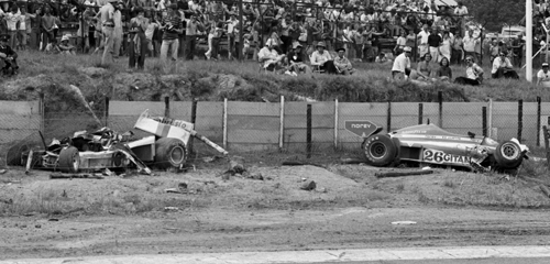 7. south african grand prix 1987 wreck tom pryce