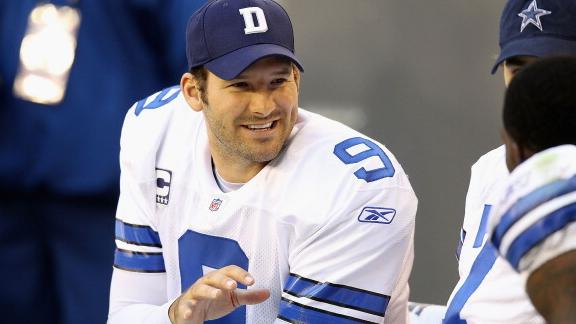 8 tony romo - biggest ladies men in sports