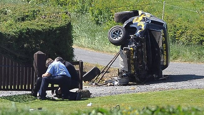 9. cavan stages rally crash ireland 2012