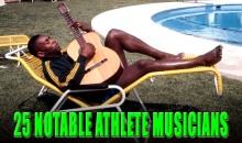25 Notable Athlete Musicians