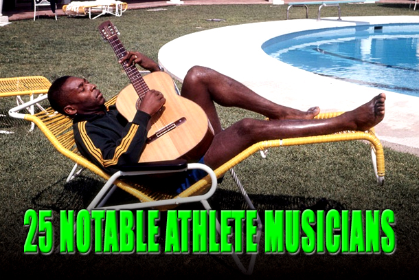athlete musicians