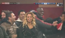 Mario Balotelli and Robinho Celebrated AC Milan's Upset of Barcelona by Doing the Harlem Shake…Sort Of (Videos)