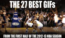 The 27 Best GIFs from the First Half of the 2012-13 NBA Season