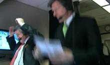 NESN Announcer Jack Edwards Jumps For Joy After Bruins Tie the Game (Video)
