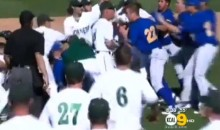 Sacramento State and UC Riverside Kick Off College Baseball Season with Epic Bench-Clearing Brawl (Video)