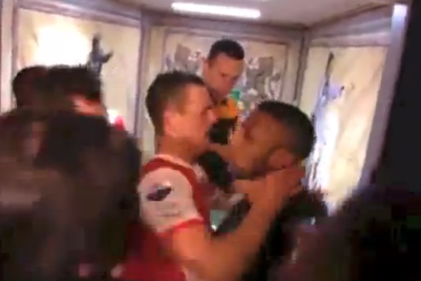 dutch soccer brawl