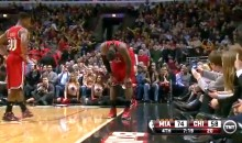 Classless Bulls Fans Cheer Apparent LeBron James Injury (Video)