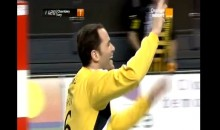 French Handball Keeper Scores Ridiculous Goal (Video)