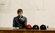Is This the Best National Signing Day Commitment Ever? (Video)