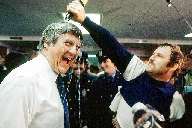 george steinbrenner and thurmon munson - winningest sports team owners