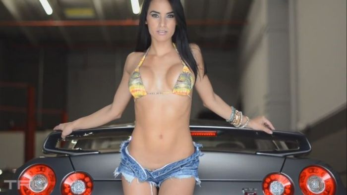 Subaru Rally Car >> Sexy Girls and Cars (Gallery) | Total Pro Sports