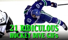 21 Ridiculous Hockey Dive GIFs
