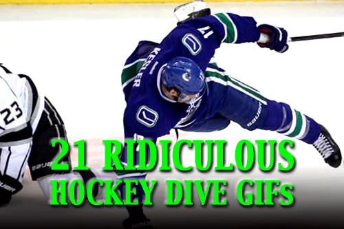 hockey dives