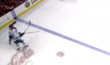 Vancouver's Jannik Hansen Gave Marian Hossa a Dirty Elbow to the Back of the Head (Video)