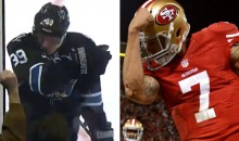 San Jose Sharks Sniper Logan Couture Was Kaepernicking Last Night (Video)
