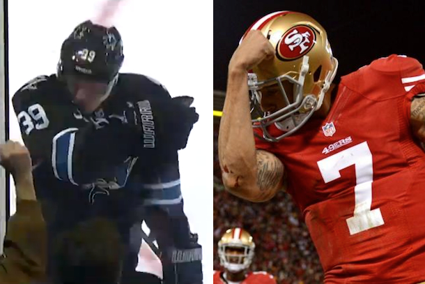 kaepernicking logan coture colin kaepernick