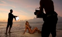 Kate Upton Sports Illustrated Swimsuit Issue: Painted-On Bikini Shoot Behind-The-Scenes Video