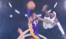 Kobe Bryant Posterized Gerald Wallace and Kris Humphries (Video)