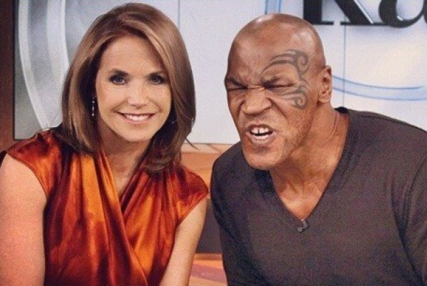 mike tyson with katie couric