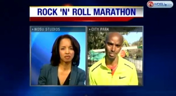 mo farah new orleans interview