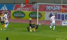 Moroccan Goalie Smacks Head on Turf, Loses Consciousness, Swallows Tongue, Nearly Dies (Video)