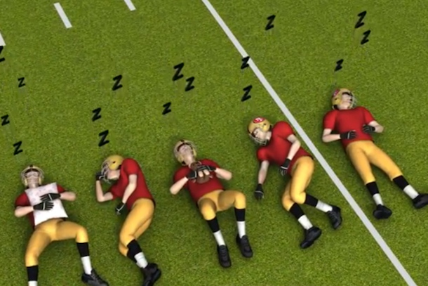 nma animated re-enactment of super bowl xlvii