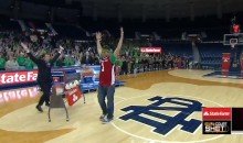 Notre Dame vs. Louisville Provides Five Overtimes and a $18,000 Half-Court Shot (Videos)