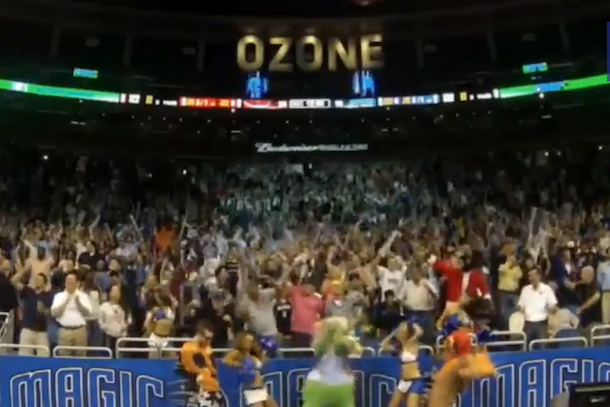 orlando magic mascot harlem shake