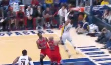 Paul George Put Together His Own Highlight Reel Against the Bulls Last Night (Videos)