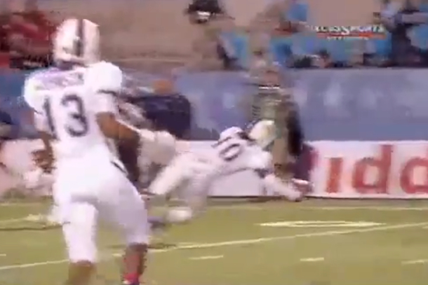 shaquem griffin one-handed interception