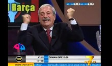 Tiziano Crudeli Was An Emotional Wreck During AC Milan's Champions League Victory Over Barcelona (Video)