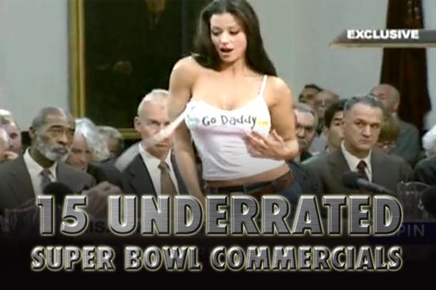 underrated super bowl commercials