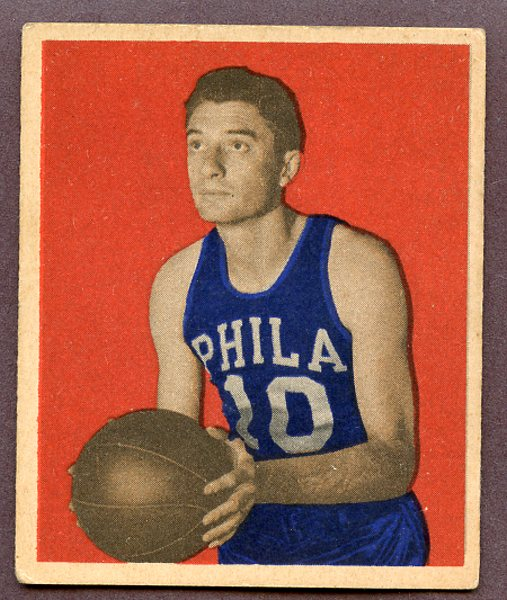 11 joe fulks 1948 card - nba 60 points club (players who have scored 60 points in a game)