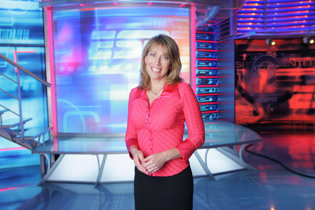 13 linda cohn espn - most popular female sports reporters on twitter
