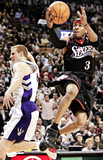 17 allen iverson - nba 60 points club (players who have scored 60 points in a game)